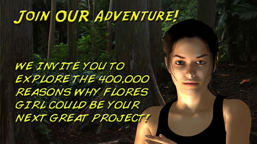 Join Flores Girl for your next great movie or series!